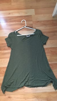 Army green dress/shirt  Essex, N0R