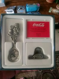 Coca Cola Collectable Spoon and Stand Fullerton, 92833
