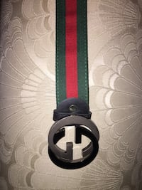 black and green Gucci belt Mississauga, L5M 8A4