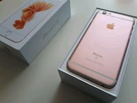 rose gold iPhone 6s with box Toronto, M9W 1H3
