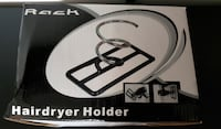 Support A Sechoir A Cheveux Hair Dryer Holder NEW/ NEUF ‎$10 Ville Saint Laurent Montreal