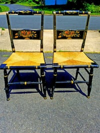 AUTHENTIC&ANTIQUE HANDCRAFTED WICKER CHAIRS! This  Fairfax, 22032