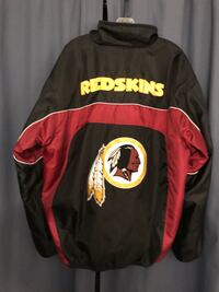 Burgandy,black and gold Redskin jacket Thurmont, 21788