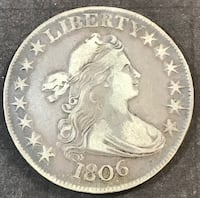 1806 Draped Bust Half Redding, 96002