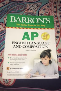 AP English Language And Composition Exam Test Book Hanover, 21076