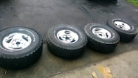 5 x 5.5 Dodge Ram rims North Branford, 06471
