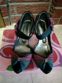 pair of black leather shoes. Mississauga, L4T 3L6