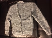 Women Gray real wool blouse/jacket one size (fits all sizes) Montréal, H3H