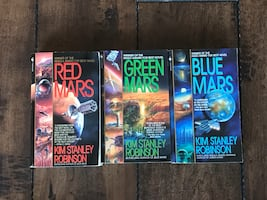 Red, Green & Blue Mars Trilogy