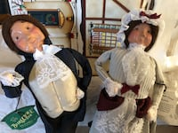 Byers Dolls, Mr and Mrs Fezziwig Pleasant Valley, 12569