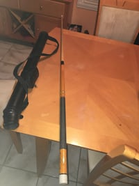 solid  billard stick, good condition excellent gripe play and  nice