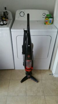 red and black upright vacuum cleaner Clifton, 81520
