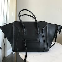 Authentic celine phantom luggage tote in black smooth calfskin Hamilton, L8E 1G6