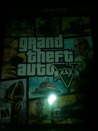 Grand Theft Auto Five Xbox One game case Taylor, 76574