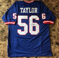 Lawrence Taylor Autographed Jersey w/ COA! Windsor, N8W