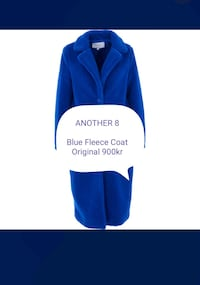 ANOTHER 8  Blue Fleece Coat   Rælingen, 2008