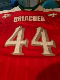red and white Urlancher 44 NFL jersey Fairhaven, 02719