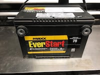 Truck battery. Used for 2 month and then stored .  553 km