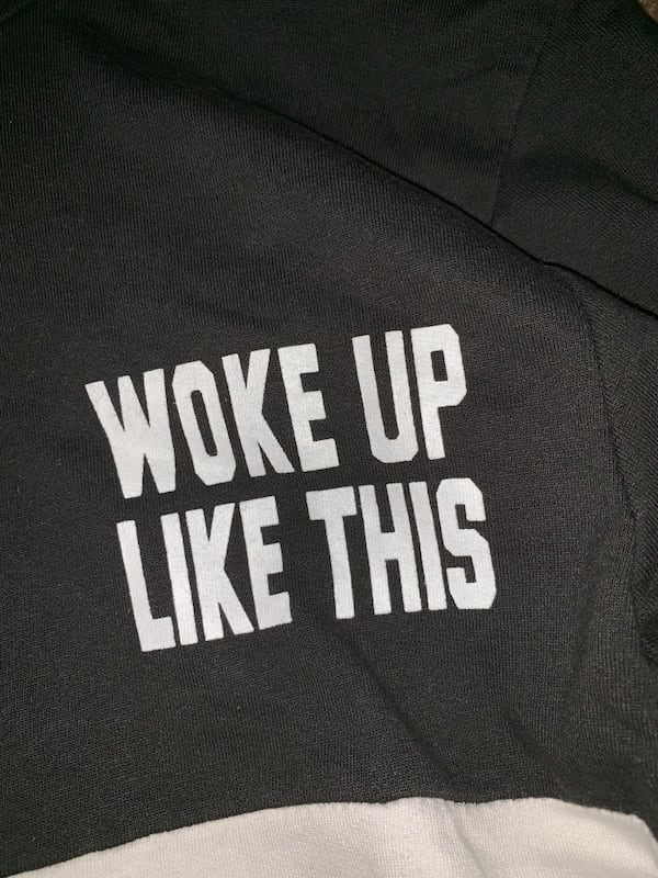 Woke up like this Pullover hoodie 45160e94-377d-426e-944f-53164495d803