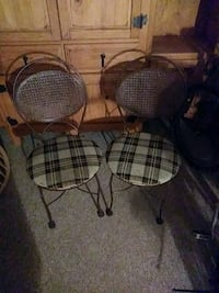 two black and white padded chairs Bradenton, 34207