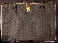 brown Louis Vuitton leather tote bag Toronto