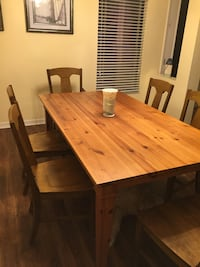 Pottery Barn Pine Table- made in Italy