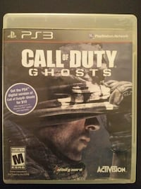 PS3 Call of Duty Ghosts  Vaughan, L4L