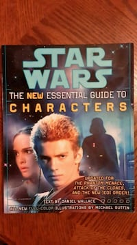 Star Wars the New Essential Guide to Characters 2390 mi