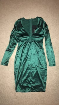 Green Silk Dress Bethesda, 20817