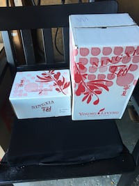 Young living ningxia red Four bottles and 30 packets