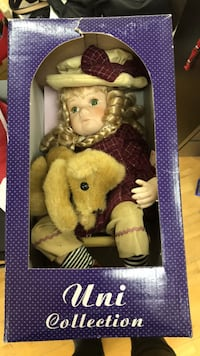 Collectables Doll with Puppy null