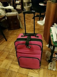 Suitcase with Wheels, Adjustable Handles