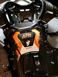KTM youth chest guard