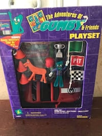 Adventures of Gumby and Friends Playset BNIB  Very collectible and very hard to find.  VIEW MY OTHER ADS!!!  Toronto