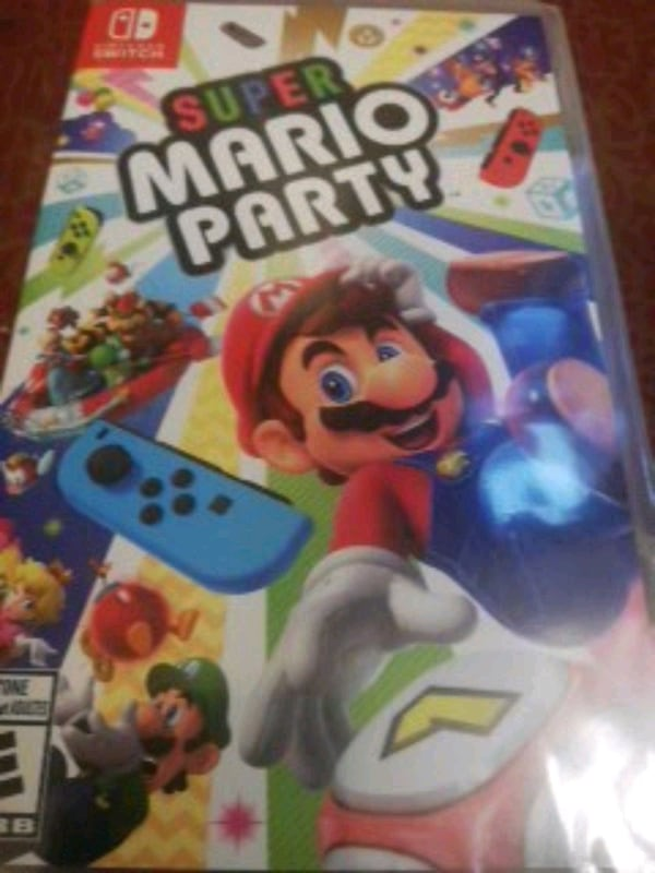 Super Mario Party sealed 8135b15e-5ae8-4219-8fdf-a27f6ce21a89