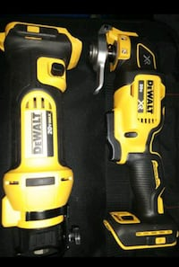 DEWALT TWO PIECE TOOL SET AND BAG! COMES WITH ONLY THE TWO TOOLS!-----