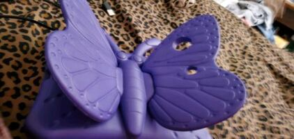 Butterfly tablet holder with stand