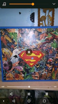 Hand-painted Superman picture Trion, 30753