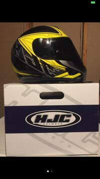 black and yellow hjc helmet Frederick, 21702