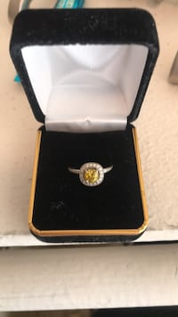 Customized yellow diamond ring El Segundo, 90245