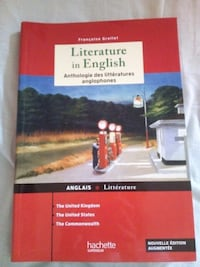 Literature in english Limoges, 87000