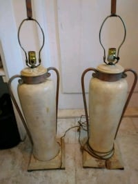 Matching Table Lamps Wilton Manors