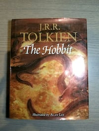 "J.R.R. Tolkien ""The Hobbit"" Hardcover Illustrated by Alan Lee Mississauga, L4Y 3S4"