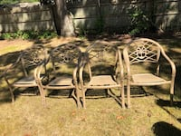 Set of 4 chairs  Shirley, 11967