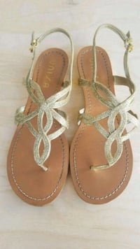 Unisa Gold Sandals, Size 9.5 Los Angeles