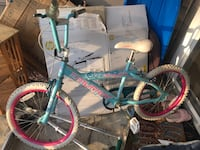 toddler's teal and pink bicycle Midlothian, 23113