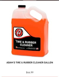 Adams tire and rubber cleaner new Ames, 50014