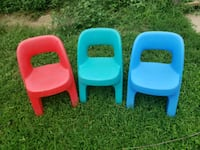 3 step 2 toddler chairs $5 each  Waterford Township, 48327