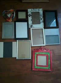 11 SMALL PICTURES FRAME 1$ EACH OR 11 FOR 10$ Beaconsfield, H9W 3W7