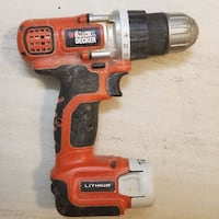 Black and Decker 12V Max Lithium drill/driver Alexandria, 22312